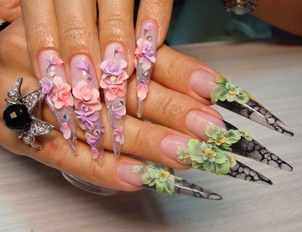 Дизайн ногтей-акрил