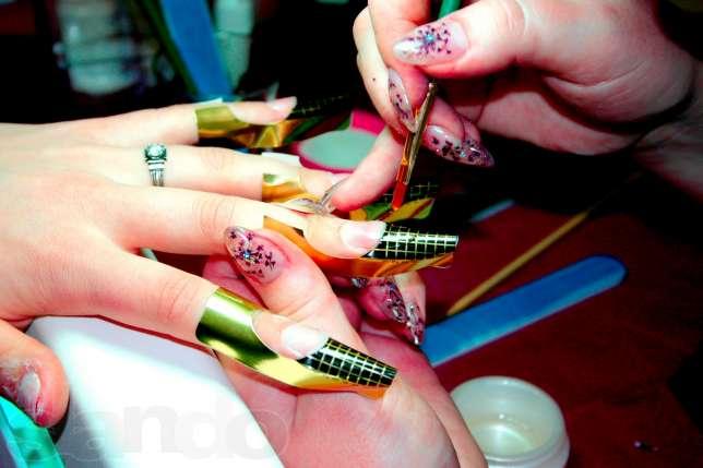 Наращивание ногтей гелей в домашних условиях