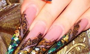 Как сделать ногти-стилеты самостоятельно