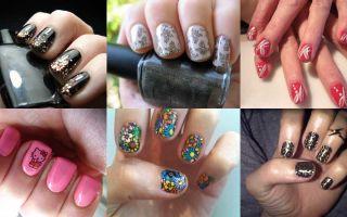Дизайн коротких ногтей: новинки 2015 года
