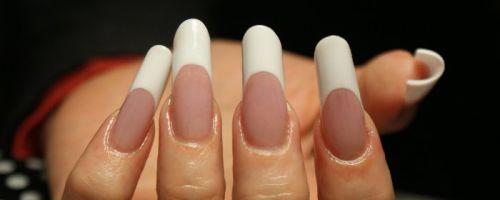 Арочное моделирование ногтей акрилом
