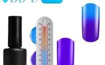 Дизайн ногтей термо гель-лаком